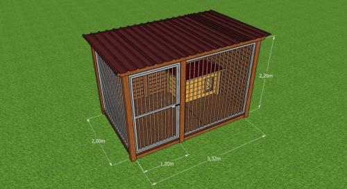 Visualisation Chenil 3D