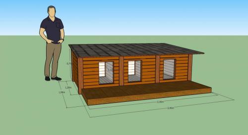 Project - Niche isolée, bois massif, sur mesure